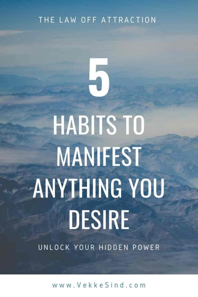 unlock you hidden spiritual power 5 habits for law of attraction
