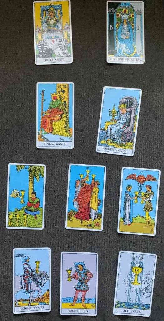 What Tarot Cards Represent Cancer