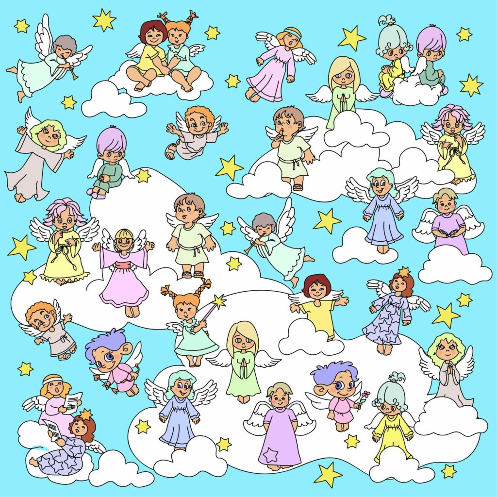 Find the angel without a pair